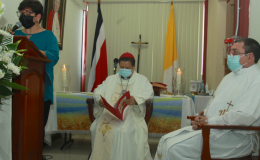 Hospital geriátrico celebró a su patrono San Juan Pablo II