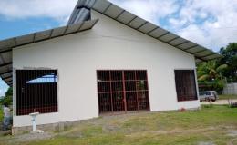 Liberianos construyen templo dedicado a San Juan Pablo II