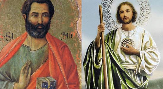 San Simón y San Judas: 28 de octubre
