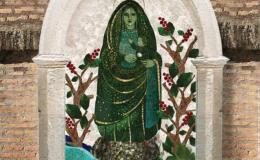 Develarán mosaico de la Negrita en el Vaticano